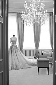 Sheer elegance and bridal beauty at the Ralph & Russo showroom, London
