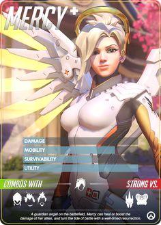 Overwatch Hero Card Mercy