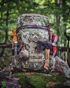 With the popularity of camping, hiking, and trailing at an all-time high, there comes a great demand to known even the most basic of survival skills before heading out on your next outdoor trip. Wilderness Survival, Camping Survival, Outdoor Survival, Camping Gear, Backpacking Gear, Camping Outdoors, Backpack Camping, Survival Knife, Survival Tips