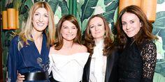 Sarah Rutson, Natalie Massenet, Lucy Yeomans and Alison Loehnis - HarpersBAZAAR.com