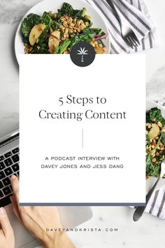 Today's guest is Jess Dang, founder of Cook Smarts, an online meal planning service. Jess shares her tips on content creation in a 5 step approach. Business Stories, Business Advice, Cook Smarts, Content Marketing Strategy, Blogging For Beginners, Social Media Tips, Blog Tips, Cooking, Photography Blogs