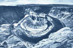 Grand Canyon Wall Art Laser Print Denim Poster by DenimArts, $16.50