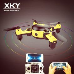 Ky901 Rc Quadcopter 3d Flip 4ch Foldable Mini Drone For Indoor Outdoor Toy E Good Taste Radio Control & Control Line