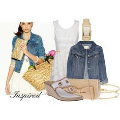 Inspired by itztru on Polyvore featuring Alice In The Eve, J.Crew, Jack Rogers, ALDO, Burberry, Paul Morelli and Havaianas