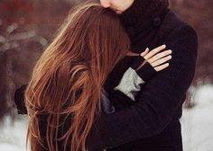 Love - relationship hug