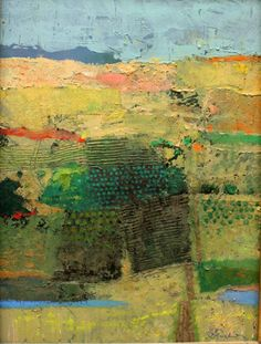 """Calistoga Farms"", Mark English 4,500.00 Mixed Media"