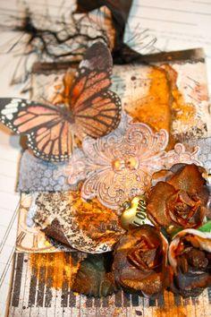 Love Mixed Media Prima Tag - Scrapbook.com