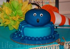 Octopus Smash Cake- plus lots of other ideas!