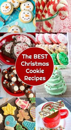 the very best christmas cookie recipes ever holiday cookies christmas treats