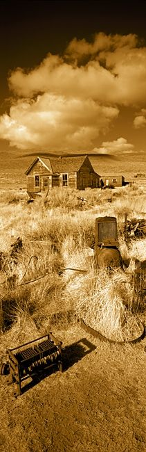 House in a ghost town, Bodie Ghost Town, Mono County, California, USA |  My favorite ghost town!