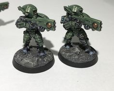 Post with 59 votes and 3424 views. Tagged with tau; My first finished tau breachers Tau Warhammer, Warhammer Figures, Warhammer Paint, Warhammer Models, Warhammer 40k Miniatures, Paint Schemes, Color Schemes, Tau Army, Tau Empire