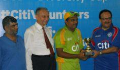 Best Fielder of the Cup Mr. Umer Ansari