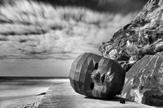 IR shot from the 2012 Sculpture by the Sea @ Bondi