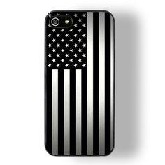 b & w america iphone case