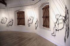 Thread Drawings by Debbie Smyth