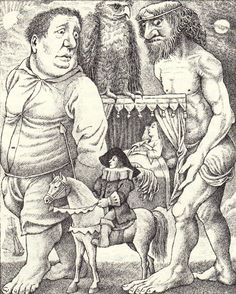 Where the Wild Things Really Are: Maurice Sendak Illustrates the Fairy Tales of the Brothers Grimm | Brain Pickings