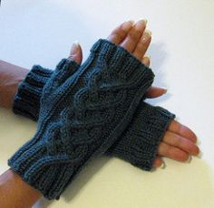 These mitts make great last minute gifts as they knit up very quickly. Read the story behind these mitts to see how they were born.