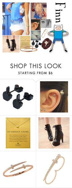 """""""Finn - PARTY"""" by blackest-raven ❤ liked on Polyvore featuring Dogeared, Colorful Shoes, Bee Goddess and Topshop"""