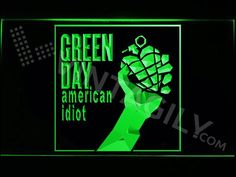 Green Day American Idiot LED Sign