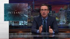 """""""I'm talking about the kind of direct threats that can make people fear for their safety,"""" the host of """"Last Week Tonight"""" said.  """"And if you're thinking, well come on, that doesn't seem like that big a problem, well, congratulations on your white penis,"""" he said. Ha!"""