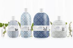 Dizajn obalov produktovej rady pre Stibio Herbal Cosmetics