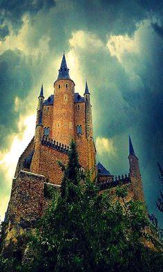 The Alcazar of Segovia, Spain