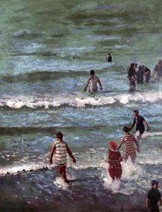 Walter Richard Sickert. Bathers, Dieppe
