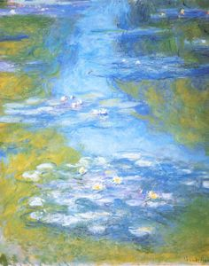 Water-lilies detail ~ Claude Monet