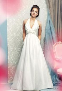 Simple Mikaella 1462 - Sample Wedding Dress with pockets for  tissue & lipstick!