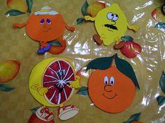 Tweety, Fruit, Character, Orange, Winter Time, Pink, Lettering