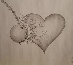 Broken heart graphite drawing shattered sad wrecking ball art Broken heart graphite drawing shattered sad wrecking ball art More from my siteSad Broken Heart Drawing Easy Pencil Drawings, Sad Drawings, Art Drawings Sketches Simple, Dark Art Drawings, Graphite Drawings, Drawing Ideas, Drawing Art, Broken Heart Drawings, Broken Heart Art