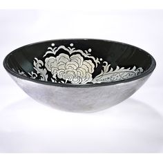 This bowl is ready to entertain your friends and family at the dinner table. This fantastically designed glass sink bowl includes a pop-up drain and mounting ring.