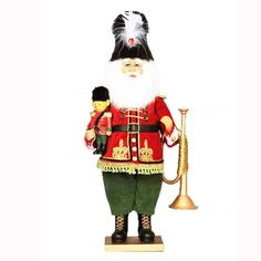 Nutcracker Santa - available in store or online at www.generalstorestockyards.com