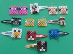 Passive Minecraft mobs Fused Plastic Perler bead by PuffyTheSlayer, £4.00