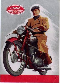JAWA 250 Bike Poster, Motorcycle Posters, Car Posters, Motorcycle Art, Motos Vintage, Vintage Bikes, Vintage Motorcycles, Cars And Motorcycles, Vintage Advertisements