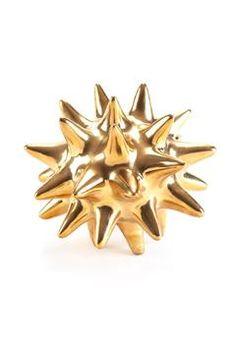 Gold Urchin, $17.00 | Update Interiors