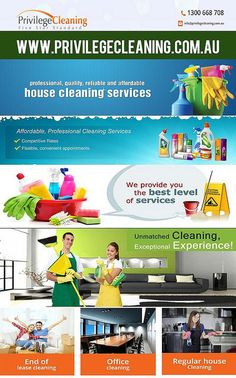 "We only know that we need a clean place, which is difficult to be kept clean despite so many visitors in a day. It needs serious cleaning Among the most popular commercial cleaning companies in Canberra, there is one name which is prominent-the ""Privilege Cleaning"", which is awarded five stars.  https://www.flickr.com/photos/133773729@N02/24473283335/in/dateposted-public/"