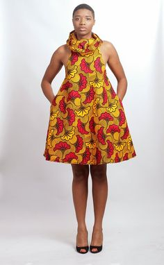 Image of Darla Baddoo Dress African Print Dresses, African Fashion Dresses, African Attire, African Wear, African Women, African Dress, Fashion Outfits, Fashion Ideas, Fashion Styles