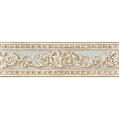 Inspired By Color�6-in Multicolor Prepasted Wallpaper Border