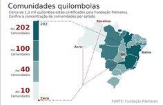 Resistência Quilombola: Mapa Dos Quilombos Brasileiros * Antonio Cabral Fi...