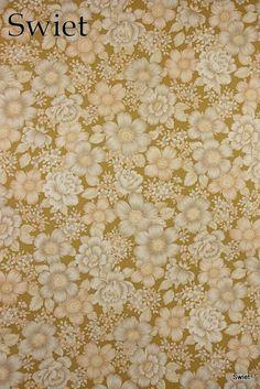 Lief #bloemenbehang #vintageflowers #wallpaper | Swiet