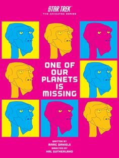 One of Our Planets Is Missing - Star Trek Animated Series Poster 3
