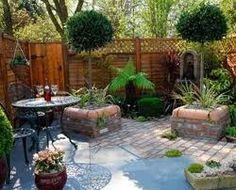 small gardens ideas - Google Search