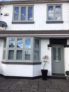 House Exterior, Exterior House Renovation, Bay Window, Window Design, House Windows, House Extension Design, Timber Windows, 1930s House Exterior, Casement Windows Exterior