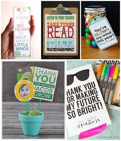 20 AWESOME FREE PRINTABLE TEACHER APPRECIATION GIFTS
