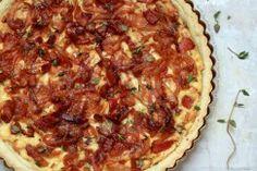 DINNER // Bacon + Onion Tart