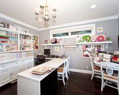Decorar el rincón de las manualidades. ¿Tienes tu propio espacio, en el que puedes relajarte y trabajar en tus manualidades? En ese caso, este post con ideas para decorarlo te encantará.