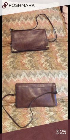 Pierre Cardin clutch Brown Pierre Cardin clutch very attractive from a clean smoke free home Pierre Cardin Bags Clutches & Wristlets