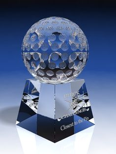 Fantastic crystal golf trophy awards specially designed to recognize employees, golf players, golf coaches. Trophy Plaques, Golf Trophies, Crystal Awards, Trophy Design, Custom Awards, Sports Awards, Golf Player, Fundraising Events, Corporate Gifts