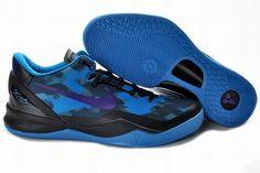 Authentic Nike Zoom Kobe VIII Black Blue Purple Basketball Shoes Style For Wholesale Nike Lebron, Nike Zoom Kobe, Lebron 11, Kd 6 Shoes, Nike Kobe Shoes, Shoes Style, Shoes 2014, Running Shoes, Air Jordan 3
